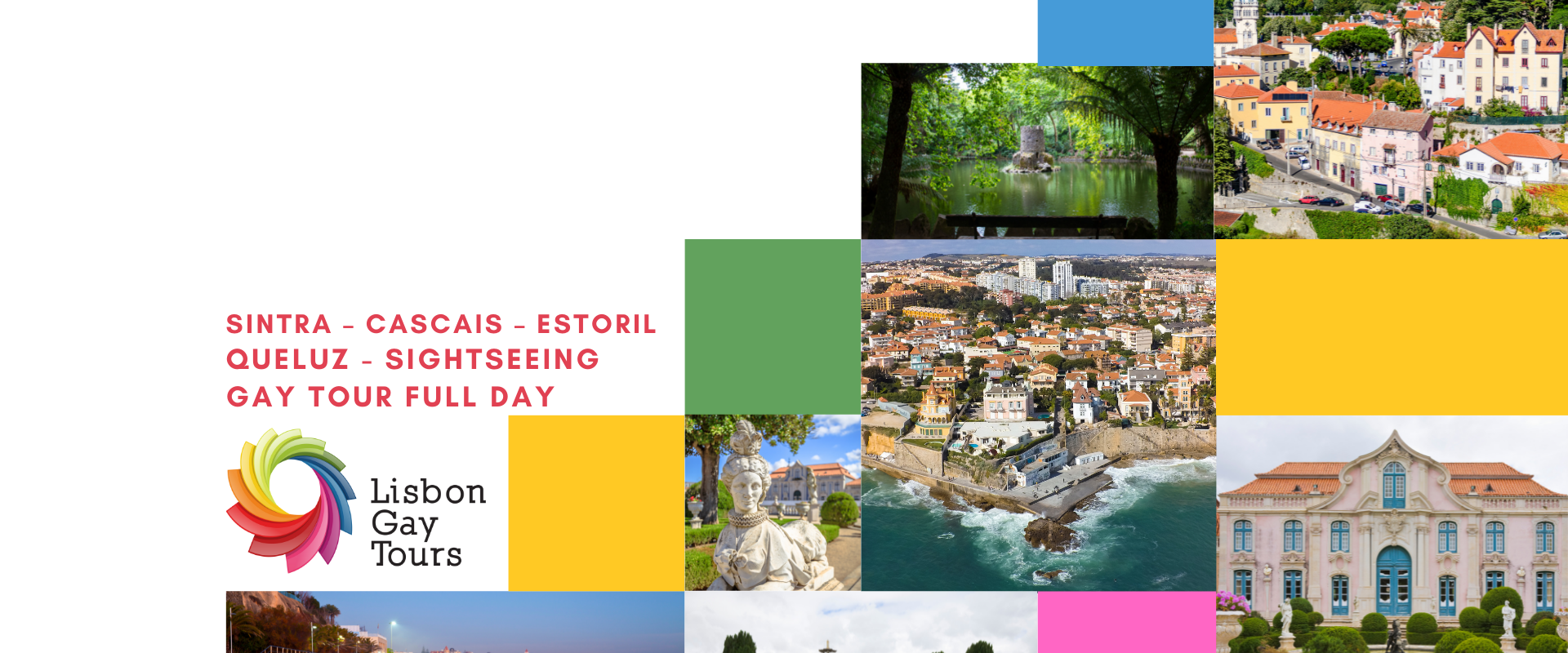 Sintra – Cascais – Estoril – Queluz – Sightseeing Gay Tour Full Day