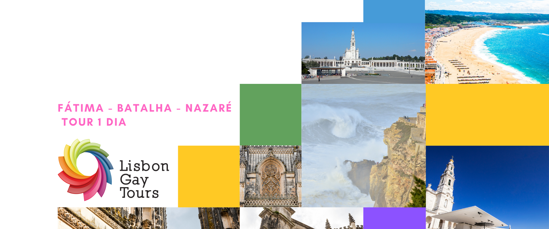 Fátima – Batalha – Nazaré Tour 1 Dia